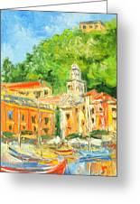 Italy - Portofino Greeting Card