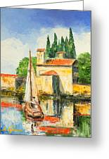 Italy - San Vigilio Greeting Card