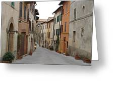 Italy Streets Greeting Card
