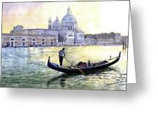 Italy Venice Morning Greeting Card