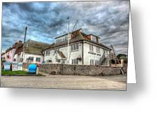 Itchenor Harbour Office Hdr Greeting Card