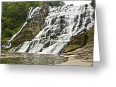 Ithaca Falls Greeting Card