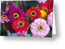 Farmer's Market Flowers II Greeting Card