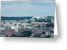Ithaca New York And Cornell University Greeting Card