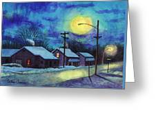 Its Cold Outside. Greeting Card