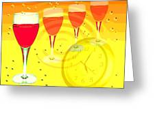 Its Five O'clock Somewhere Greeting Card