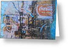 Its The Real Thing On James Street Greeting Card