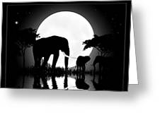Ivory Greeting Card