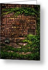 Ivy And Bricks Greeting Card