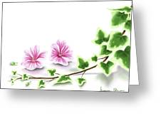 Ivy And Mallow Greeting Card
