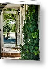 Ivy Arch Greeting Card