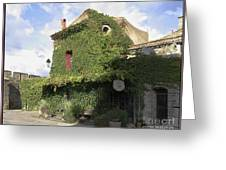Ivy Covered Cottage Greeting Card