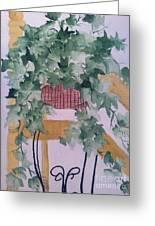 Ivy Greeting Card by Sherry Harradence