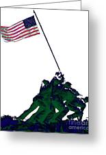 Iwo Jima 20130210-white Greeting Card by Wingsdomain Art and Photography