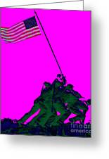 Iwo Jima 20130210 Greeting Card