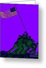 Iwo Jima 20130210m28 Greeting Card by Wingsdomain Art and Photography