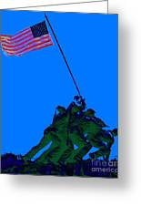 Iwo Jima 20130210m88 Greeting Card by Wingsdomain Art and Photography