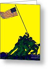 Iwo Jima 20130210p118 Greeting Card by Wingsdomain Art and Photography