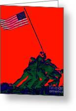Iwo Jima 20130210p65 Greeting Card by Wingsdomain Art and Photography