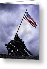 Iwo Jima Memorial  Greeting Card
