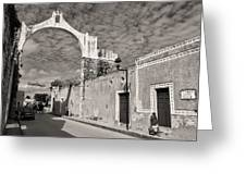 Izamal Arch Greeting Card