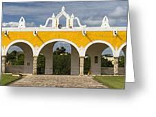 Izamal Convent Greeting Card