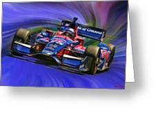 Izod Indycar Series Marco Andretti  Greeting Card