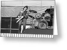 J. Geils At Day On The Green 1976 Greeting Card