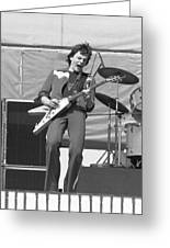 J. Geils In Oakland 1976 Greeting Card