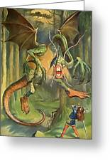 Jabberwock Greeting Card