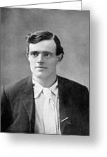 Jack London  American Writer, In 1906 Greeting Card