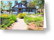 Jack London Countryside Cottage And Garden 5d24565 Long Greeting Card