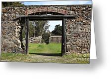 Jack London Ranch Winery Ruins 5d22128 Greeting Card
