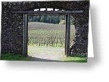 Jack London Ranch Winery Ruins 5d22132 Greeting Card