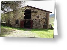 Jack London Sherry Barn 5d22070 Greeting Card by Wingsdomain Art and Photography