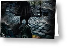 Jack The Ripper Greeting Card