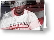 Jackie Robinson Greeting Card