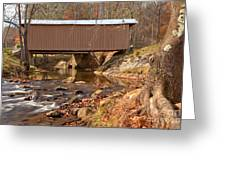 Jacks Creek Bridge Over Smith River Greeting Card