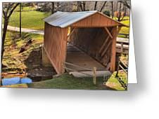 Jacks Creek Historic Bridge Greeting Card