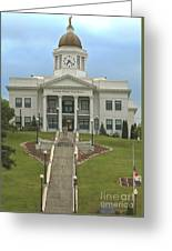 Jackson County Courthouse Greeting Card