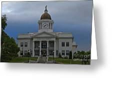 Jackson County Courthouse North Carolina Greeting Card