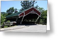 Jackson Covered Bridge Nh Greeting Card