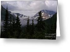 Jackson Glacier Greeting Card