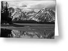 Jackson Lake Grand Teton National Park Greeting Card