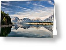 Jackson Lake Greeting Card
