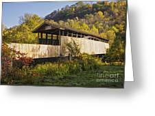 Jackson Mill Covered Bridge Greeting Card