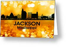 Jackson Ms 3 Greeting Card