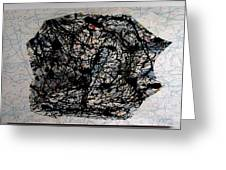 Jackson Pollock Paint By Number Greeting Card