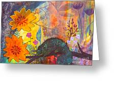 Jackson's Chameleon Greeting Card