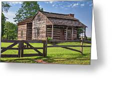 Jacksons Mill Cabin Greeting Card